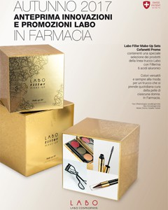 CONFANETTI PROMO LABO FILLER MAKE-UP / TERZO TRIMESTRE 2017